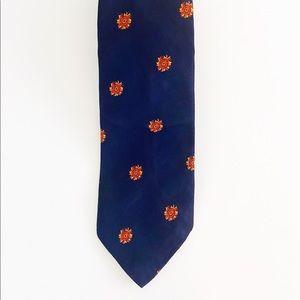 WMChelsea Tie Blue Sun Print